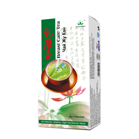 green world breast care tea