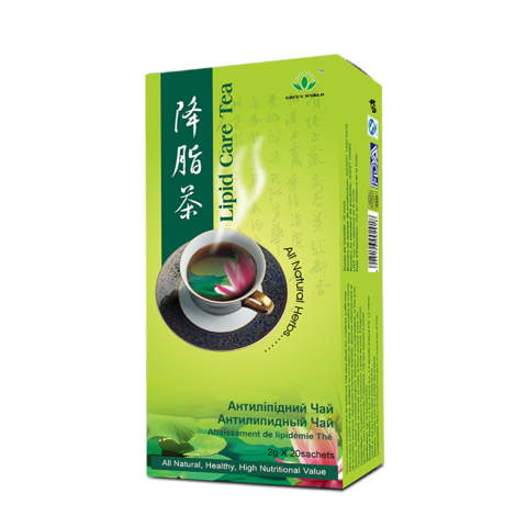 green world lipid care tea